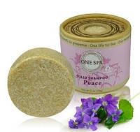 Натуральный шампунь для волос твердый Pei Mei Цветочный с добавлением эфирных масел 56 г