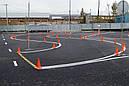 Конус дорожный КС-500 со светоотражающей лентой, фото 4