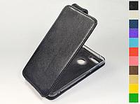 Откидной чехол из натуральной кожи для ZTE Nubia Z18 Mini
