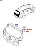 Кришка багажника кіа Соренто 3, KIA Sorento 2018 - UM, 73700c5121, фото 6