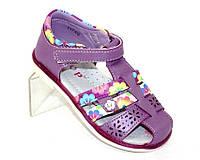 Детские босоножки фиолетовые, фото 1