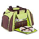 Набір для пікніка КЕМПІНГ СА-429 (посуд на 4 персони + сумка з термо-відсіком), фото 2