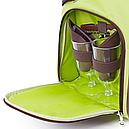 Набір для пікніка КЕМПІНГ СА-429 (посуд на 4 персони + сумка з термо-відсіком), фото 3