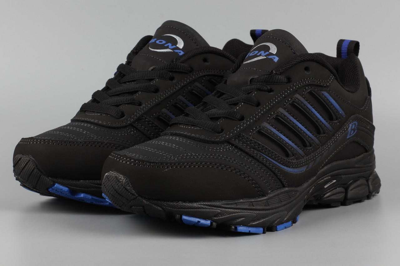 Кросівки унісекс жіночі чорні Bona 628L-2 Бона Розміри 36 37