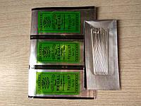 Набор игл №12 для бисера 25шт, иглы для бисера  Используются для плетения и вышивания бисером