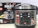 Потужна багатофункціональна мультиварка для будинку Robento RB-2111 (42 програми).Пароварка ,скороварка, фото 7
