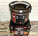 Потужна багатофункціональна мультиварка для будинку Robento RB-2111 (42 програми).Пароварка ,скороварка, фото 4