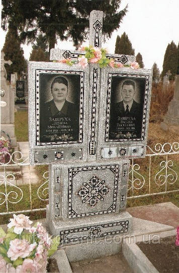 Памятники из мраморной крошки и установка в Гараздже
