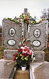 Памятники из мраморной крошки и установка в Гараздже, фото 2