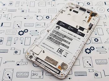 Дисплей Huawei Y5c (Y541-U02) модуль белый Сервисный оригинал с разборки