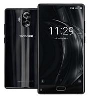 Смартфон черный с металлическим корпусом и двойной камерой на 2 сим карты Doogee Mix Lite black 2/16 гб