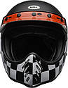 Шлем кроссовый Bell Moto-3 Fasthouse Checkers Black/White/Red, фото 3