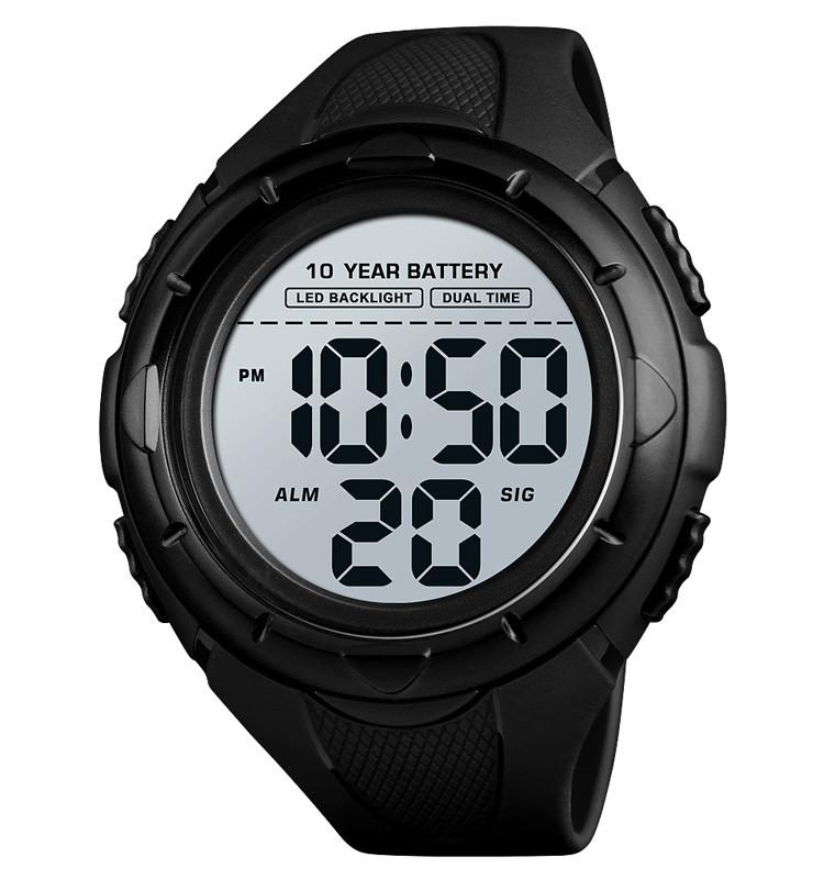 Skmei 1563 мужские спортивные часы черные