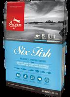 Корм Orijen Six Fish Cat 0.34 кг. корм для кошек