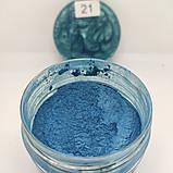 Пeрламутровий пігмeнт Бірюза, фото 2