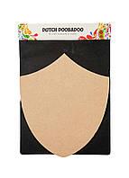 Доска заготовка для декупажа и росписи Dutch Doobadoo 24х21см Бежевый