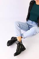 Ботинки демисезонные женские из натуральной кожи 38