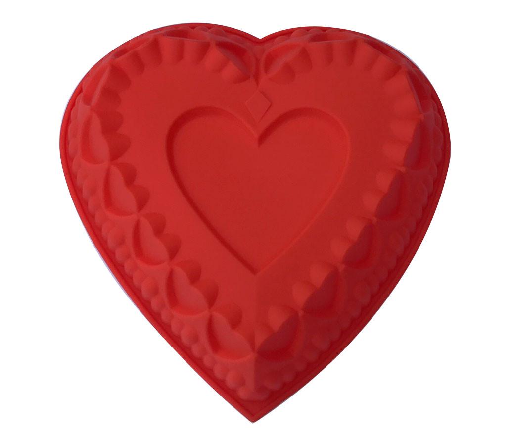 Форма силиконовая Сердце 27х27 см большое