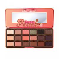Палитра теней TOO FACED Sweet Peach Eye Shadow Collection 18 в 1, фото 1