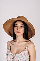 Широкополая летняя шляпа Холли, песочный