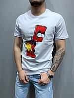 Мужская футболка 2Y Premium 5186 white