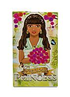 """Детский блокнотик """"Princess"""" Hanbrandt 9,5х5,5см Зеленый, Коричневый, Розовый"""