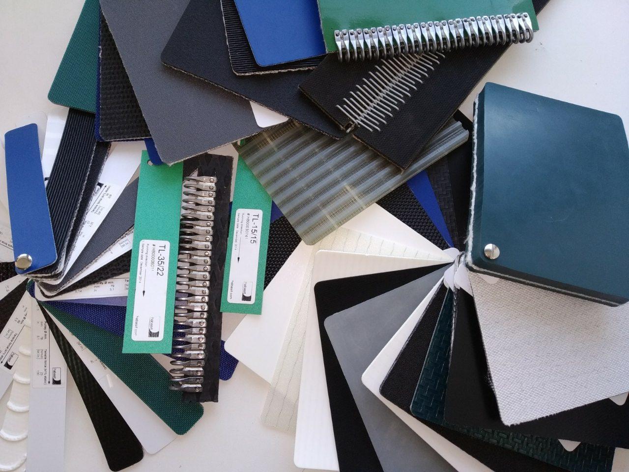Конвеєрні стрічки ПВХ в різних галузях промисловості.