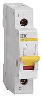 Выключатель нагрузки ВН-32 1Р  32А IEK (MNV10-1-032)