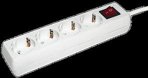 Удлинитель  У04К-выкл. 4 места 2Р+PЕ/5метров 3х1мм2  16А/250 IEK (WYP10-16-04-05-ZK-N)