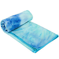 Йога рушник (килимок для йоги) KINDFOLK FI-8370 (розмір 1,83мх0,61м, мікрофібра, кольори в асортименті)