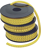 "Маркер МК1- 2,5мм символ ""0""  1000шт/ролл IEK (UMK10-0)"