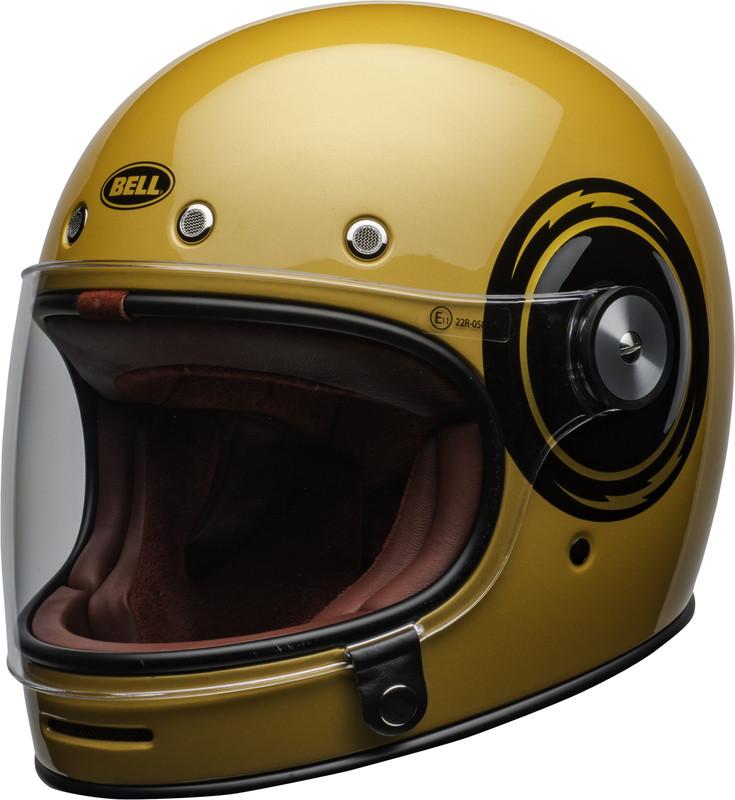 Мотошлем Bell Bullitt DLX Bolt Yellow/Black