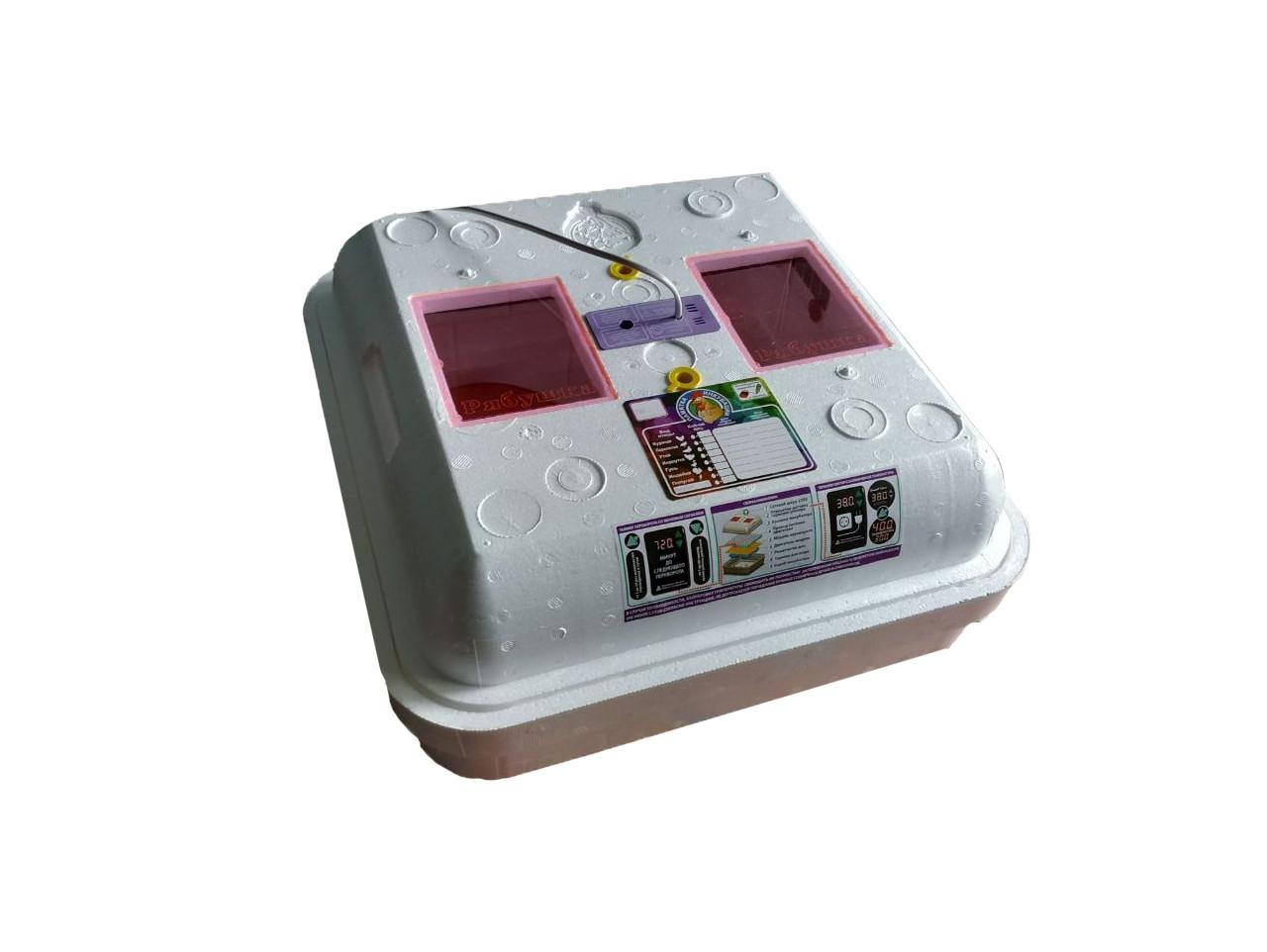 Інкубатор автоматичний Рябушка Smart 42 з горизонтальним переворотом