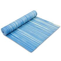 Коврик для фитнеса и йоги PVC 6мм Zelart FI-8378, фото 2