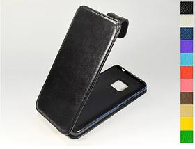 Откидной чехол из натуральной кожи для Huawei Mate 20 Pro