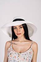 Широкополая летняя шляпа Холли, белый