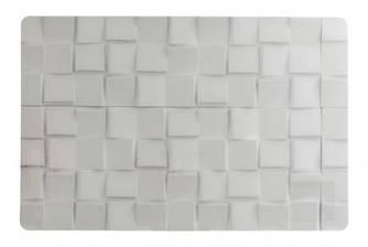 Сет під гаряче вініл - 40 х 35 см, Білий камінь (Cosy&Trendy)