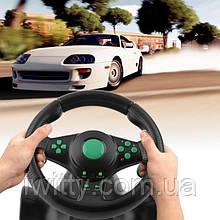 Игровой руль с педалями USB для PS2 / PS3 П.К.