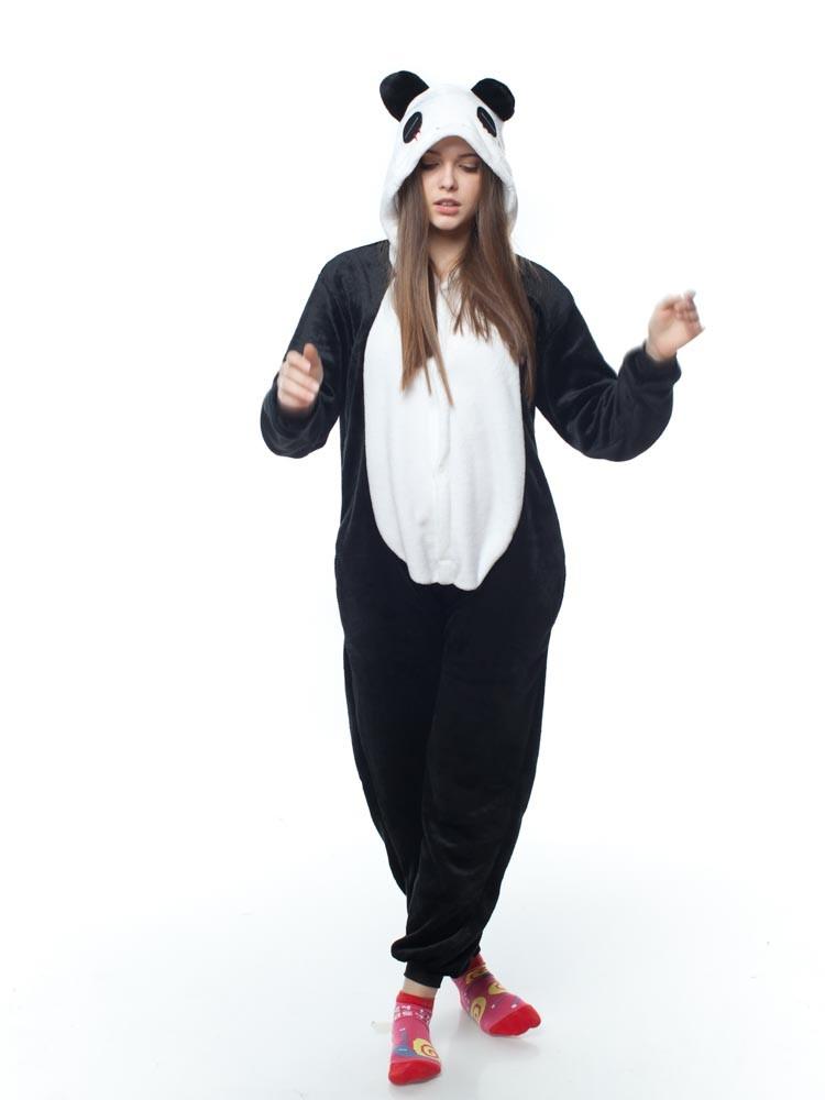 Взрослый кигуруми панда обычная kmu0018