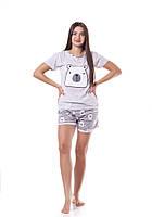 Летняя пижама шорты и футболка Турция, фото 1