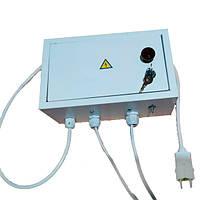 Блок управления для коптильни автоматика с теном и вентилятором до 30 кг