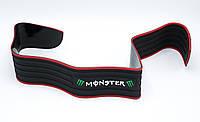 Защитная накладка на задний бампер защита багажника универсальная 90см Молдинг авто