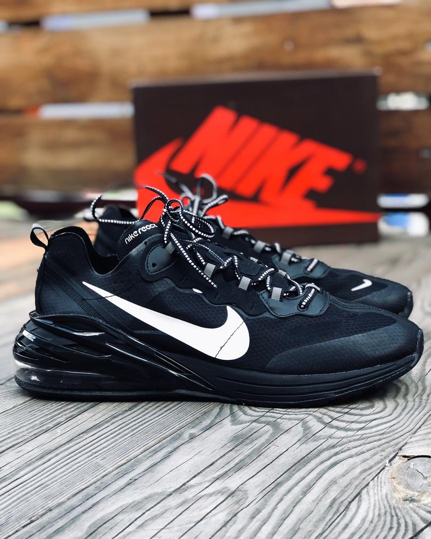 """Кроссовки Nike Air Max 270 React """"Черные"""""""