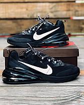 """Кроссовки Nike Air Max 270 React """"Черные"""", фото 3"""