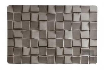 Сет під гаряче вініл - х 43.5 28.5 см, Сірий камінь (Cosy&Trendy)