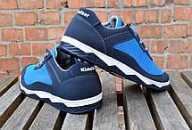 Кросівки чоловічі літні комфорт блакитна сітка, фото 2