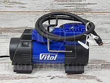 Автокомпрессор с фонарем VITOL K-60