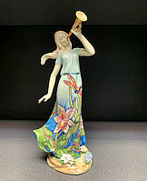 """Порцелянова статуетка дівчина """"Чарівна труба"""" (Pavone) JP-37/ 8, фото 1"""