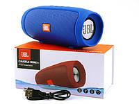 Портативная Bluetooth колонка Mini 3+ синяя, фото 1