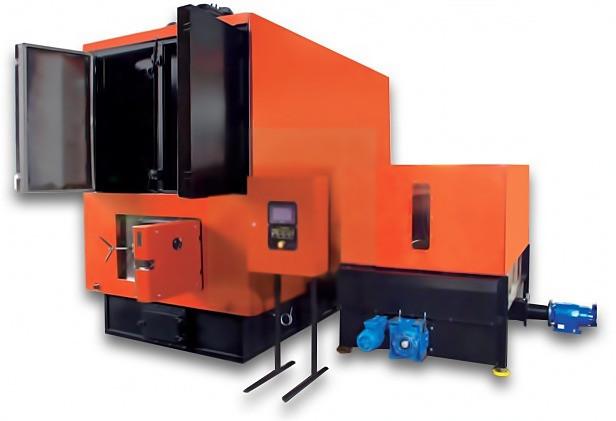 Сталеві твердопаливні котли з автоматичним завантаженням палива Lika серії КВТМ 150 кВт (ЛІКА)